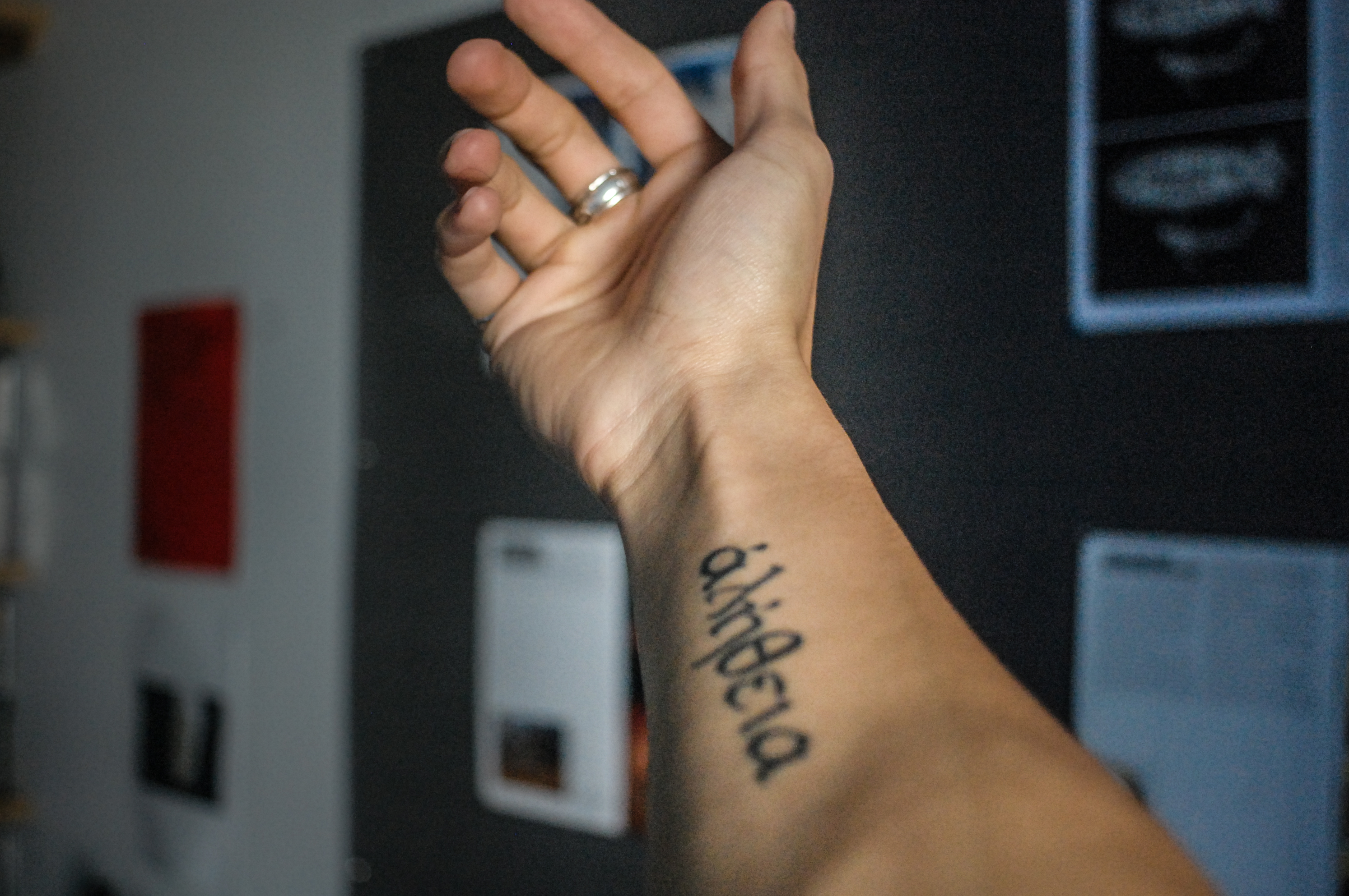 On The Meaning Of A Tattoo ἀlh8eia Le Flaneur Ln